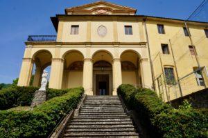 facciata chiesa casa nazareth castello pescia