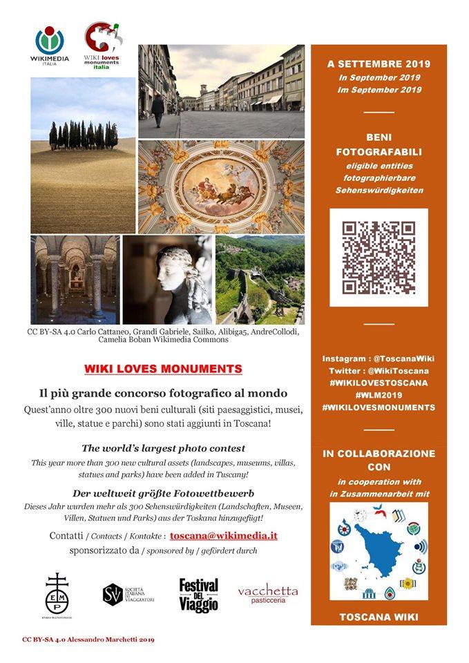 locandina wl toscana arancione wlm wiki loves monuments pescia