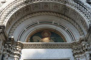 lunetta cappella Cecchi cimitero monumentale pescia