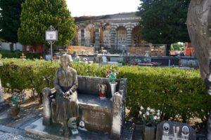 tomba monumentale cimitero di Pescia