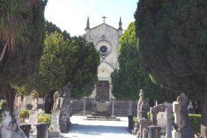 viale chiesa cimitero monumentale pescia