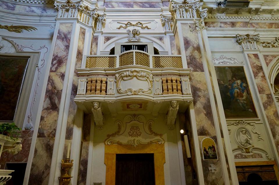 organo chiesa san michele convneto castello pescia