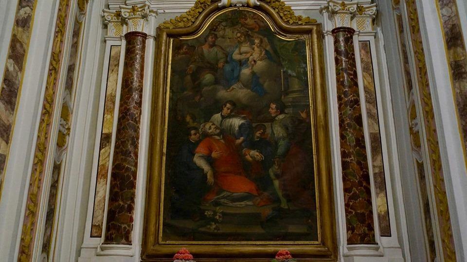 tela chiesa san michele casa nazareth castello pescia