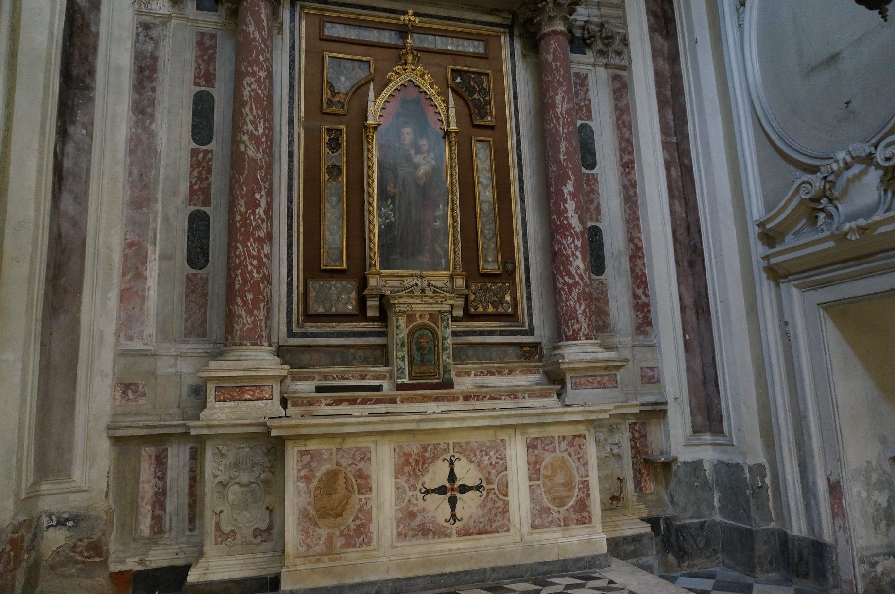 cappella sant'antonio abate chiesa annunziata pescia
