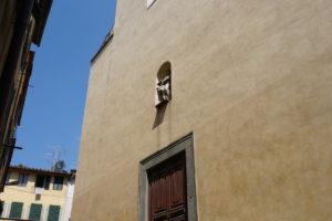 esterno chiesa santissima annunziata facciata pescia