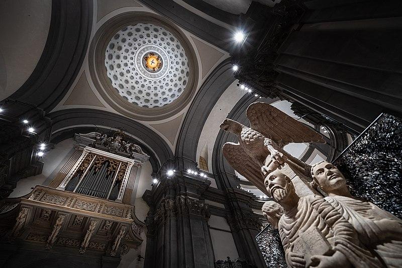 CATTEDRALE Cupola_e_ambone MINGHI wiki loves monuments pescia