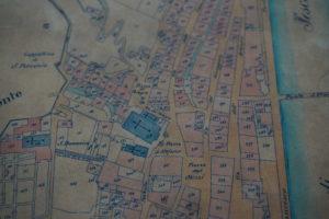 mappa storica palazzo galeotti museo civico pescia