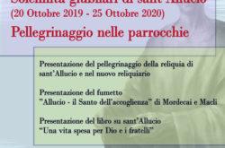 locandina conferenza stampa sant'Allucio giubileo diocesi pescia