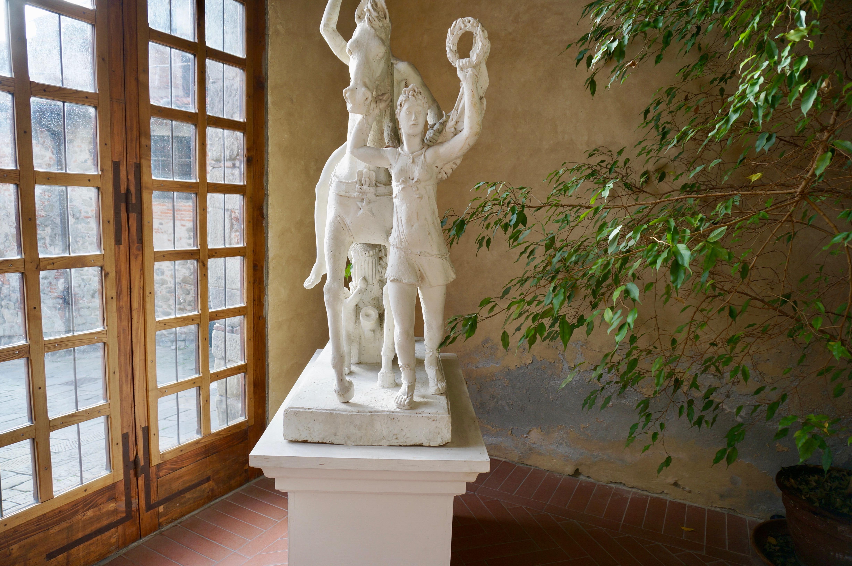 Palagio Palazzo del Podestà Gipsoteca Libero Andreotti eroe a cavallo Pescia