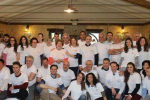foto di gruppo donatori sangue fratres castellare pescia