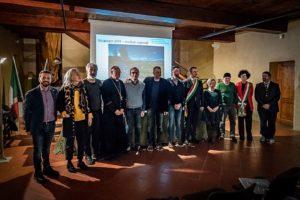 foto gruppo autorità e sponsor wiki loves monuments toscana premiazione regionale palagio pescia
