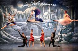 Lo schiaccianoci manifesto ballo teatrale teatro pacini pescia