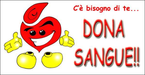 slogan donare sangue fratres castellare pescia