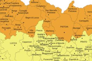 rischio sismico comuni valdinievole regione toscana pescia