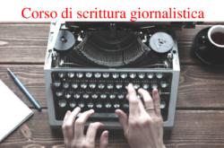 CORSO DI SCRITTURA GIORNALISTICA