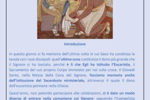0003 sussido preghiera famiglia casa settimana santa 2020 diocesi pescia