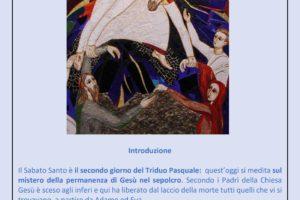 0021 sussido preghiera famiglia casa settimana santa 2020 diocesi pescia