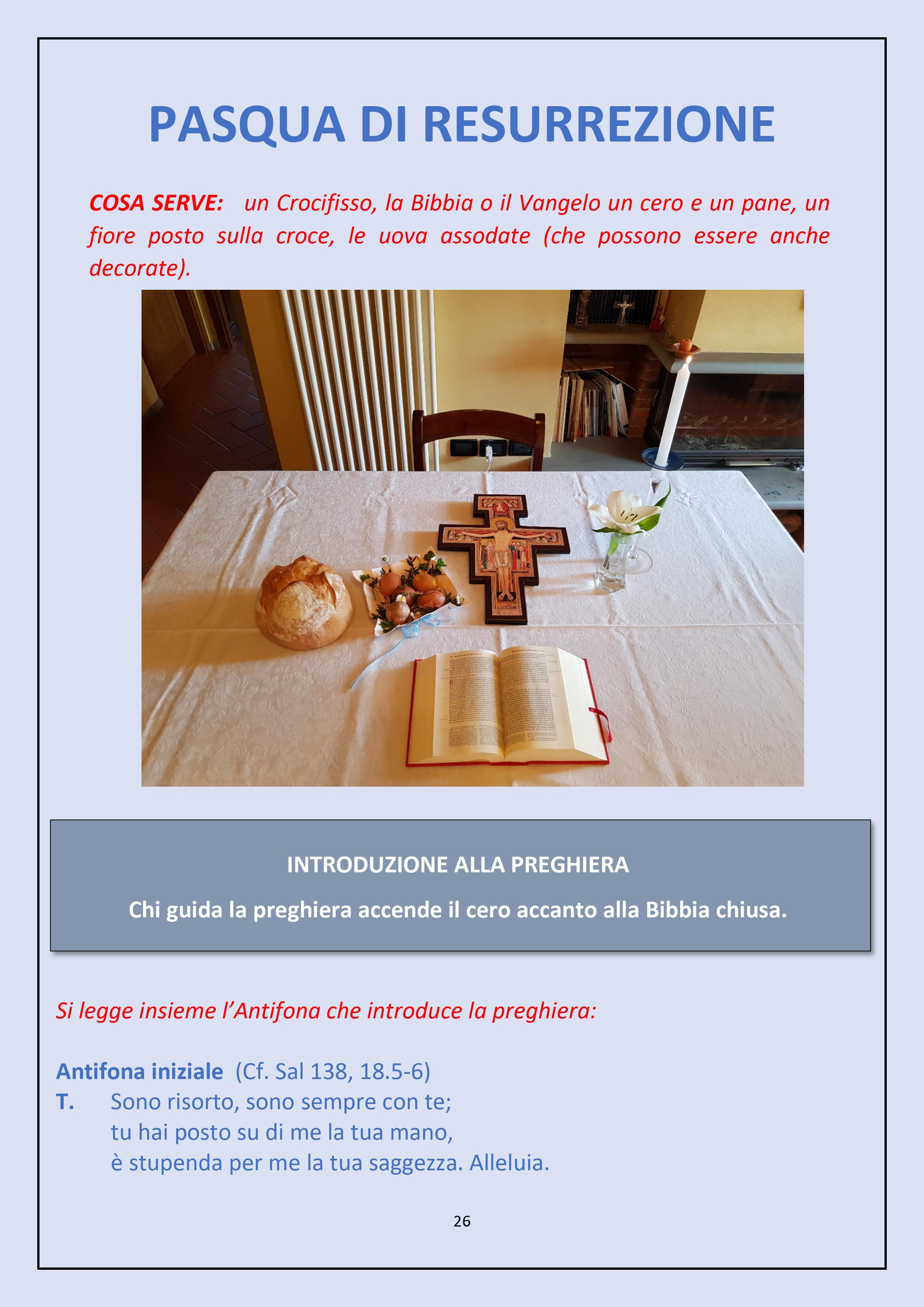 sussido preghiera famiglia casa settimana santa 2020 diocesi pescia