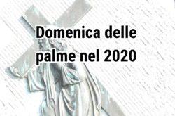 domenica palme 2020 parrocchie diocesi pescia