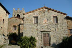 FN11 Collodi Castello, chiesa SS Bartolomeo e Sebastiano