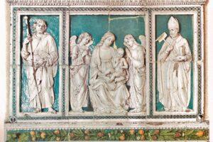 foto-notizia Trittico Della Robbia Curia Episcopale Pescia