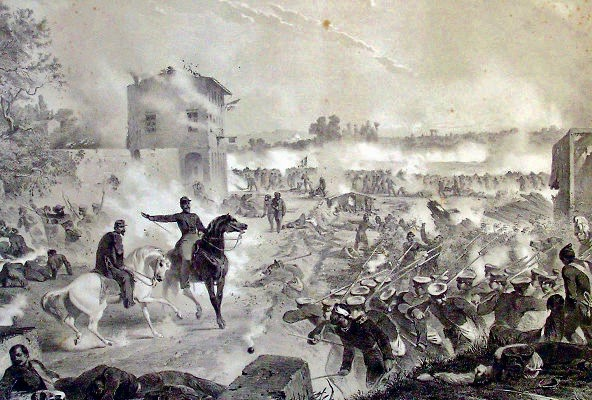 ferdinando landucci lapide caduti curtatone prima guerra indipendenza pescia