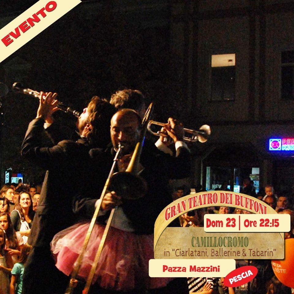 agosto Nel Campo dei Miracoli piazza del Grano pinocchio street festival senza-fili collodi Pescia
