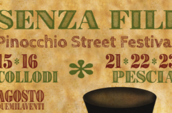 logo evidenza pinocchio street festival senza fili collodi pescia