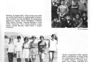 Bologna 1962 Atletica Pescia 1946 sport pescia
