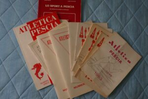Numeri unici opuscoli Atletica Pescia 1946 sport pescia