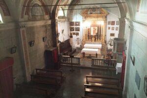 Oratorio S.Maria chiesa Aramo percorsi storici Birindelli Pescia