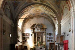 interni Oratorio S.Maria vergine chiesa Aramo percorsi storici Birindelli Pescia
