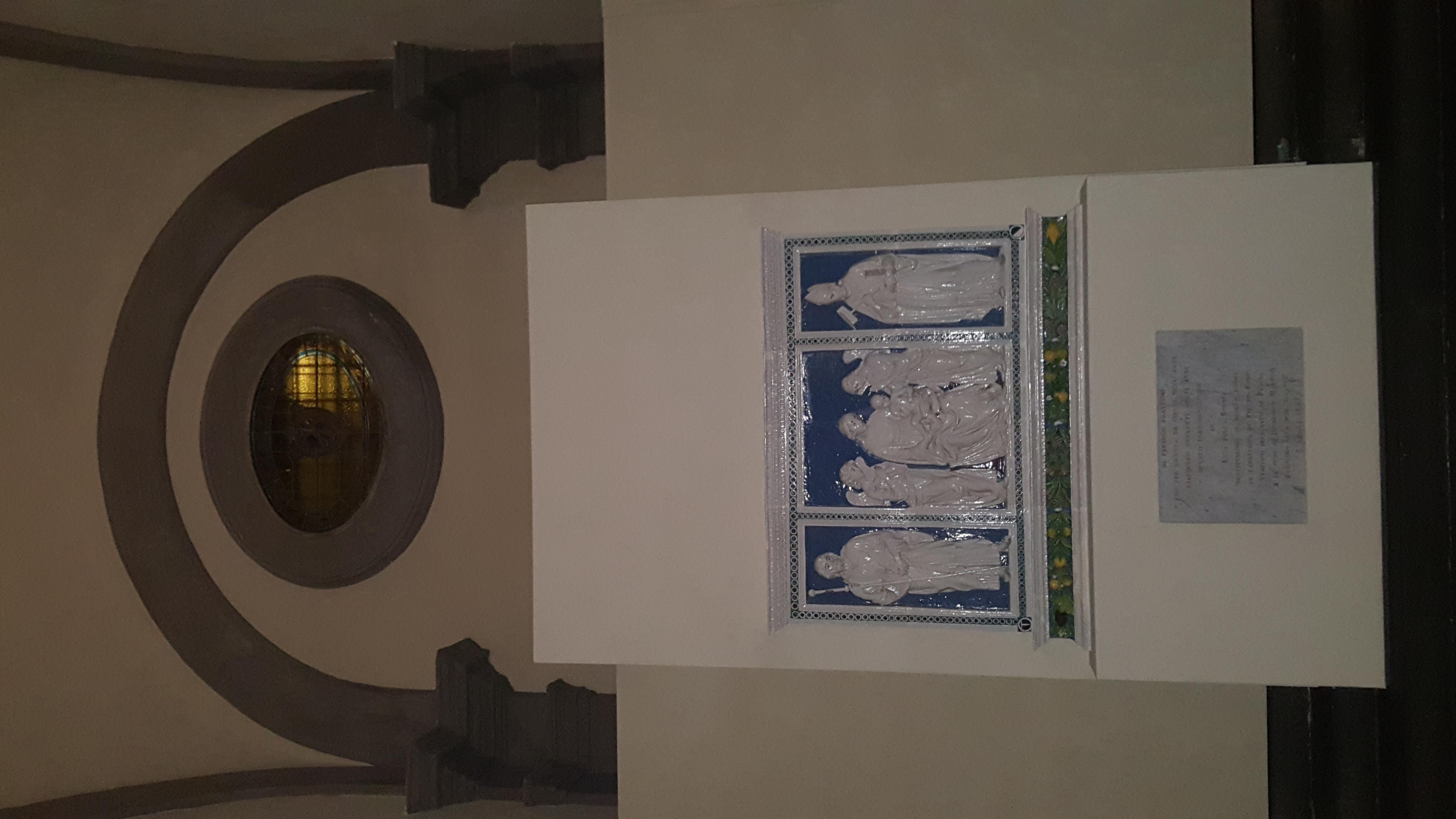 cattedrale trittico della robbia pescia