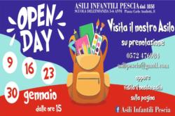 open day asili infantili evidenza pescia