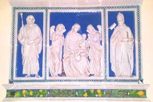 trittico foto colore ok della robbia cattedrale pescia