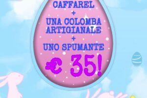 caffarel colomba artigianale spumante promozione uova pasqua enoteca bellandi alimentari pescia