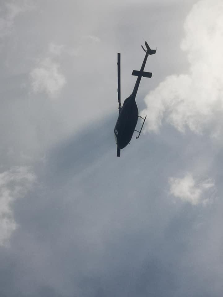 clara benesperi agusta bell 206 elicottero mistero sorvolo pescia