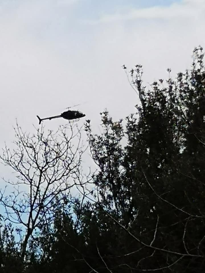 clara benesperi elicottero misterioso sorvolo pescia