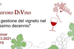 webinar seminario on-line evidenza profumo di vino degustazione agraria pescia