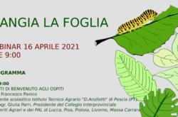 manifestazione online webinar mangia foglia istituto tecnico agrario anzilotti pescia